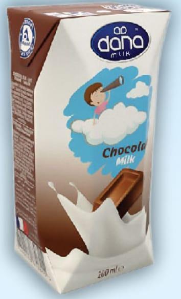 LECHE UHT CON SABOR  - La leche de sabores DANA se elabora a partir de leche fresca 100%