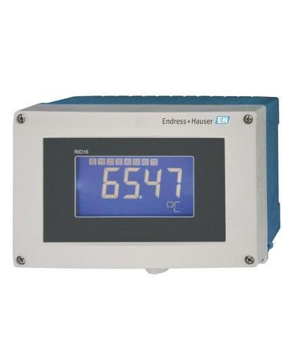 RID16  Indicatore da campo a 8 canali per bus di campo - Indicazione di valori di processo/calcolati per il protocollo Fieldbus/Profibus