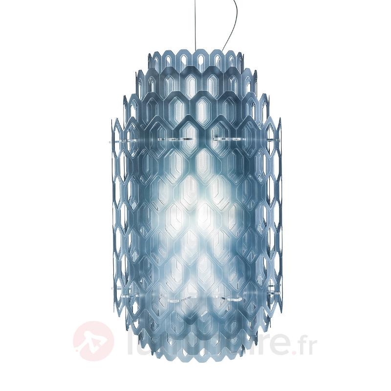Suspension LED design Chantal, bleu - Suspensions design