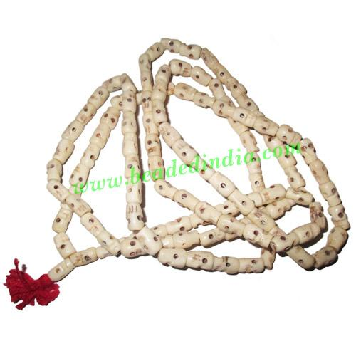 Skull (Narmund) Beads String (mala), size: 12-14mm - Skull (Narmund) Beads String (mala), size: 12-14mm