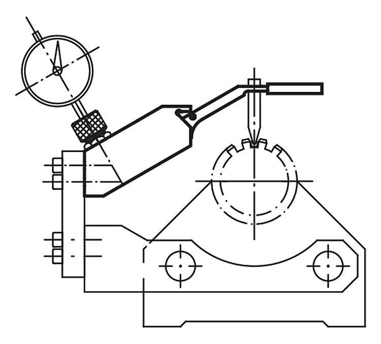 Elément de vérification sur bille pour pignons - Eléments pour montage de contrôle