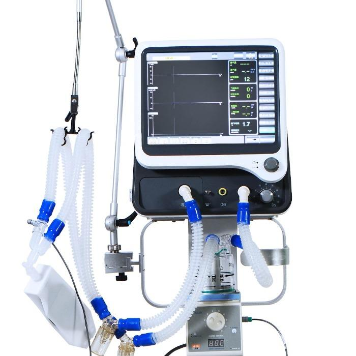 ICU Mechanical Air Ventilator Breathing Respiratory Machine -