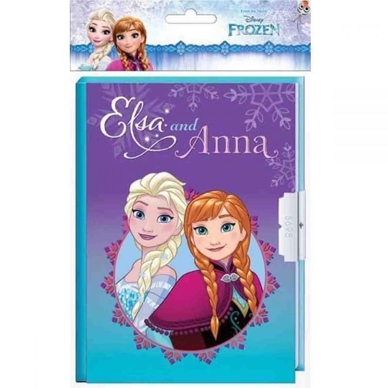 12x Carnets secret La Reine des Neiges 178x133 - Papeterie