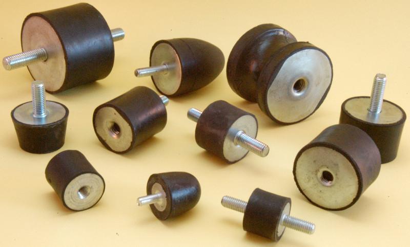 Silentbloc plot élastomère élastique antivibratoire - Toutes dimensions - Nombreux matériaux