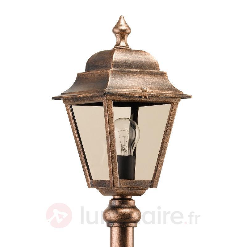Borne lumineuse antique Toulouse - Bornes lumineuses cuivre