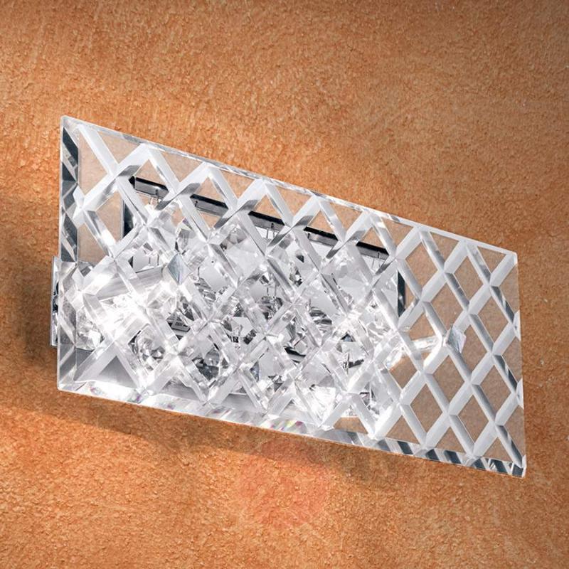 Merites Crystal Wall Light