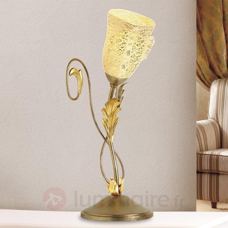 Lampe à poser ravissante Ilaria - Lampes à poser classiques, antiques