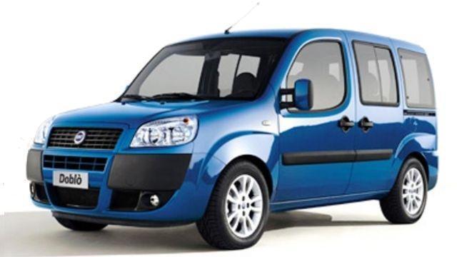 Fiat Doblo - 1600cc - Porte auto 5
