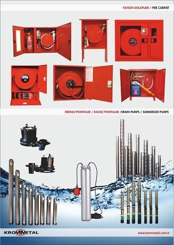 fire cabinet/drain pumps