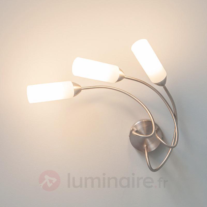 Élégant plafonnier Lenea avec ampoules LED E14 - Plafonniers LED