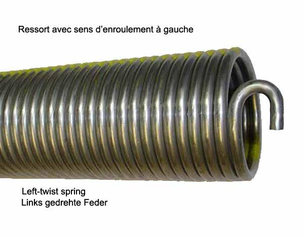 3051909-A - Torsion spring replaces Hörmann L703, L22 and L23 in stock