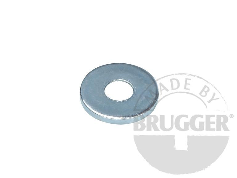 Metal disc with bore and counter bore - null
