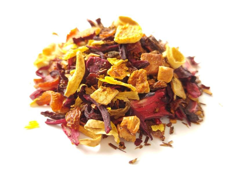 Chás de Frutas - Chás de frutas 100% naturais