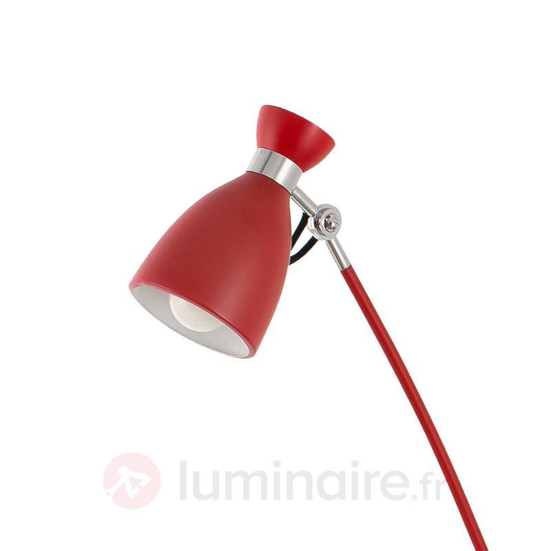 Lampadaire Retro dans une nuance de rouge soutenue - Tous les lampadaires