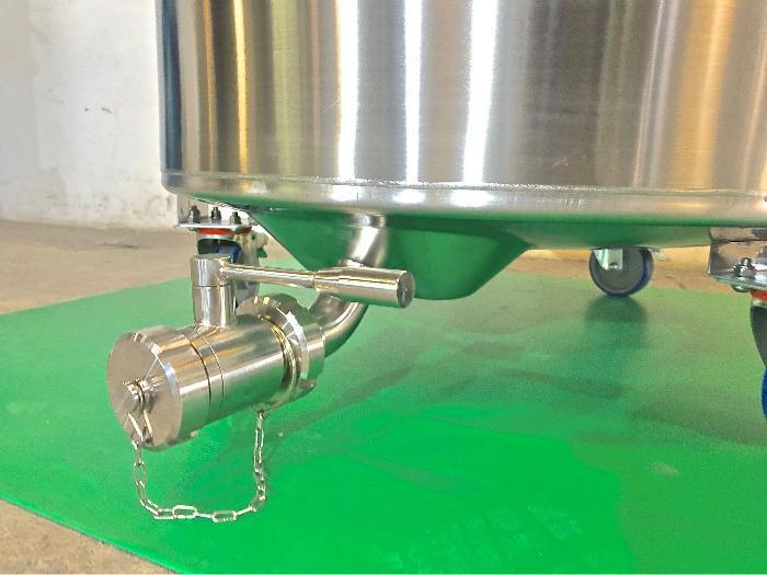 Tanque em aço inoxidável 304 - 4,51 HL - Modelo COR450D