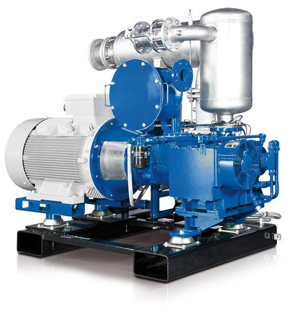 AERZEN Biogas Aggregat C ölfrei - Biogasverdichter