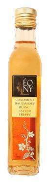 Condiment Balsamique BIO saveur Truffe  - 5.4 % d'acidité LEONY