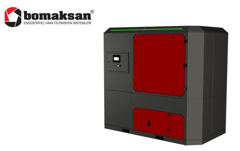 Line Series Jet-pulse Compact Panel Filter Unit - Industrial Ventilation Devices