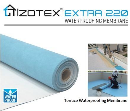 IZOTEX EXTRA 220  - Terrace & Balcony Waterproofing Membrane
