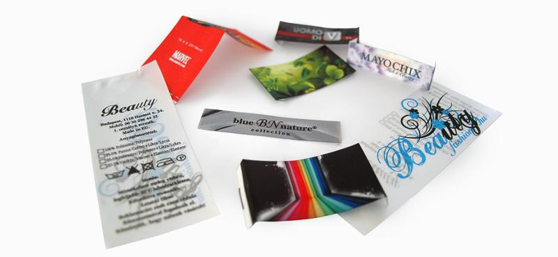 Digital printing labels - null