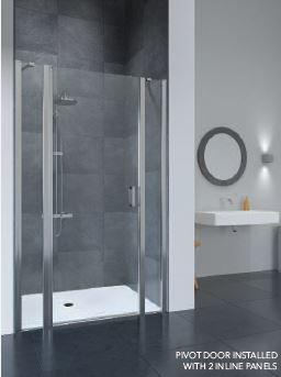 FLAIR FRAMELESS PIVOT DOOR