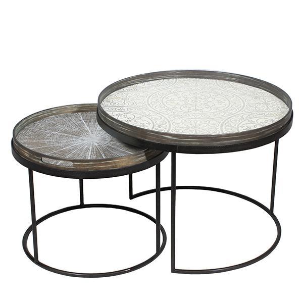 Notre monde - Set de petites tables - Déco
