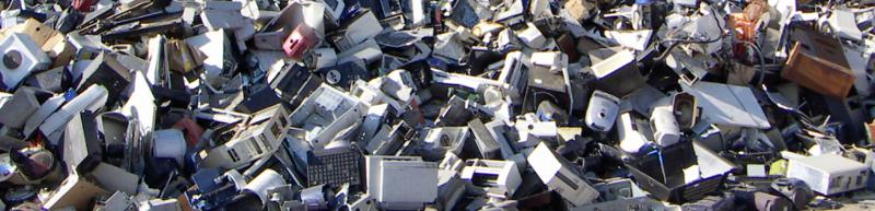 Electrical and electronic scrap recycling - application areas