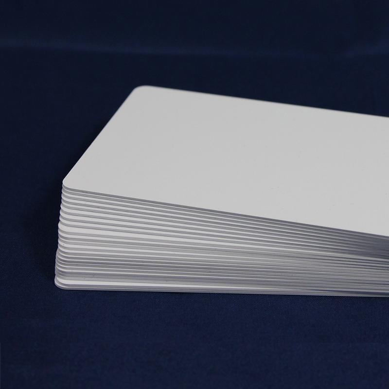500 Pvc Cards, White - null