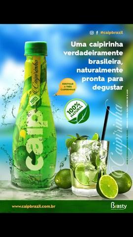 Caip - Caipirinha - Pronta para Beber - 100% Natural