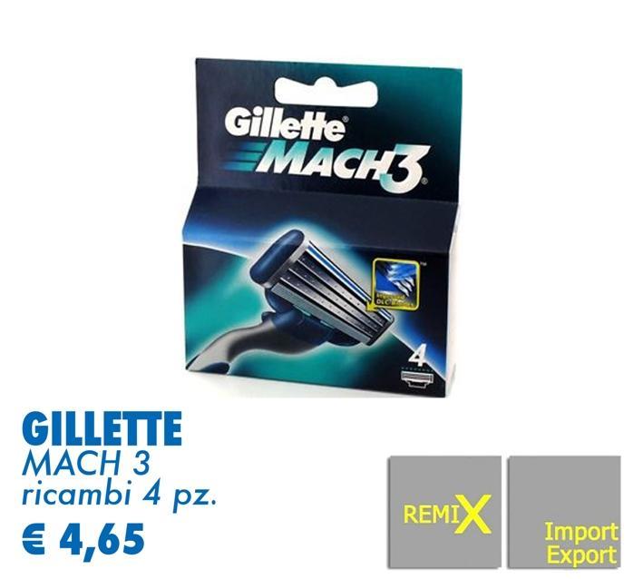 Gillette- Mach3
