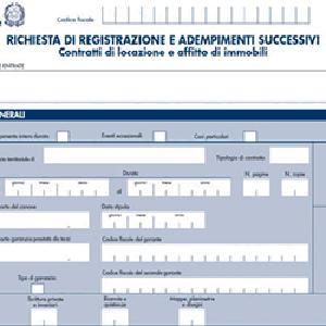 rca - REGISTRAZIONE CONTRATTO/ATTO
