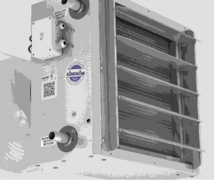 Luchtverhitter TIP - Luchtverhitter als wand- en plafondapparaten