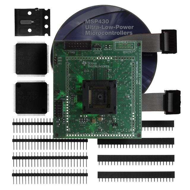 TARGET BOARD ZIF SKT MSP430F5XX - Texas Instruments MSP-TS430PZ5X100
