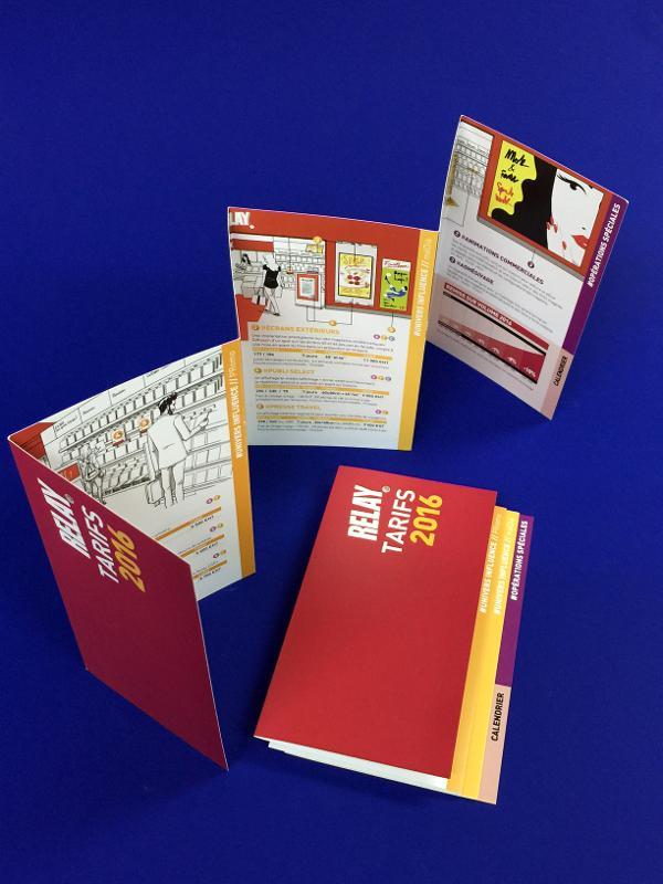 Brochures / Catalogues - Réalisation du Portfolio