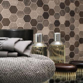 Ideamarmo Exagonal Collection - Exagonal Marble Mosaic