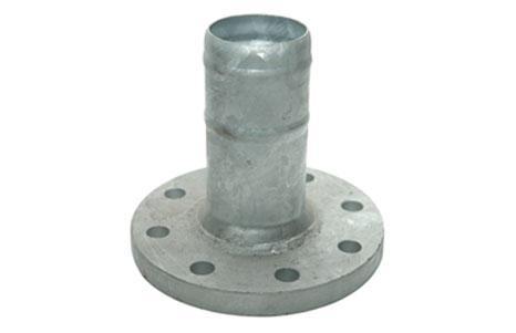 Flange couplings - Fixed flange, crimped nozzle