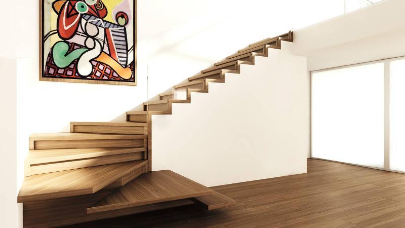 Stairs with LED - Faltwerk LED