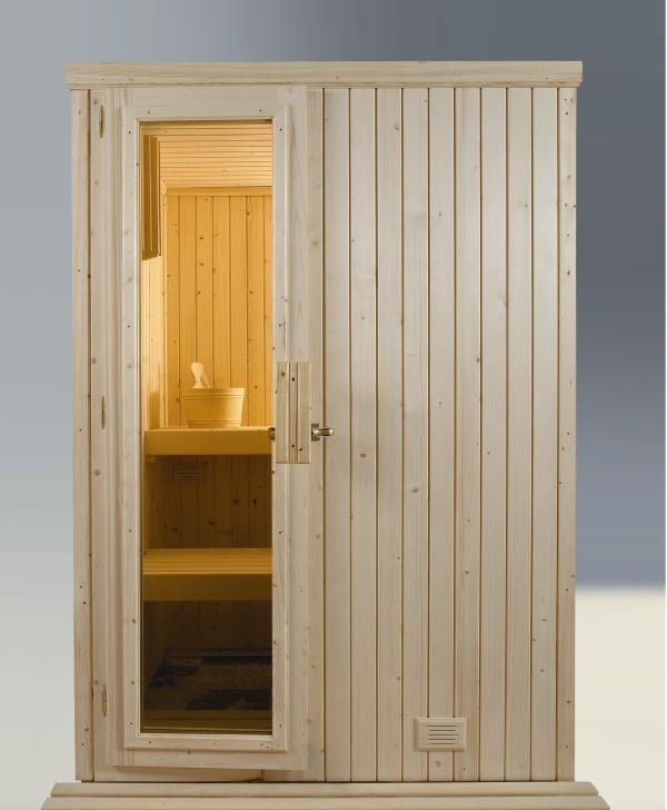 Sauna finlandesa de interior
