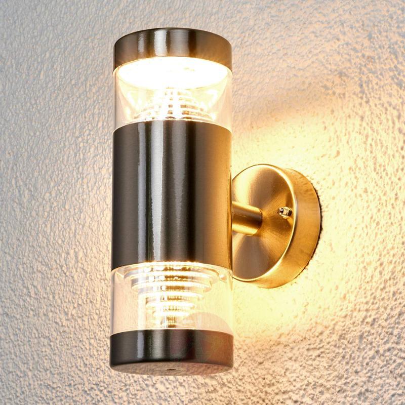 2-bulb LED outdoor wall lamp Lanea - outdoor-led-lights