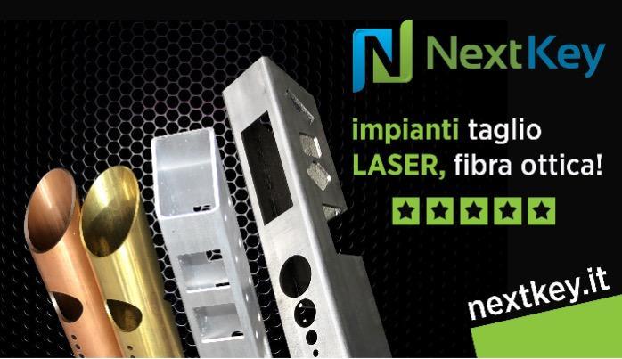 Vendita impianti taglio laser fibra ottiva - Macchine per il taglio laser di acciaio inox, ferro,  alluminio, ottone e rame.