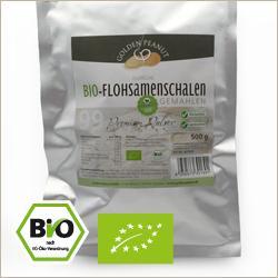 Bio indische Premium weiße Flohsamenschalen gemahlen 99 % - Flohsamen