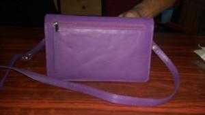 Ladies bag in Plain Leather -