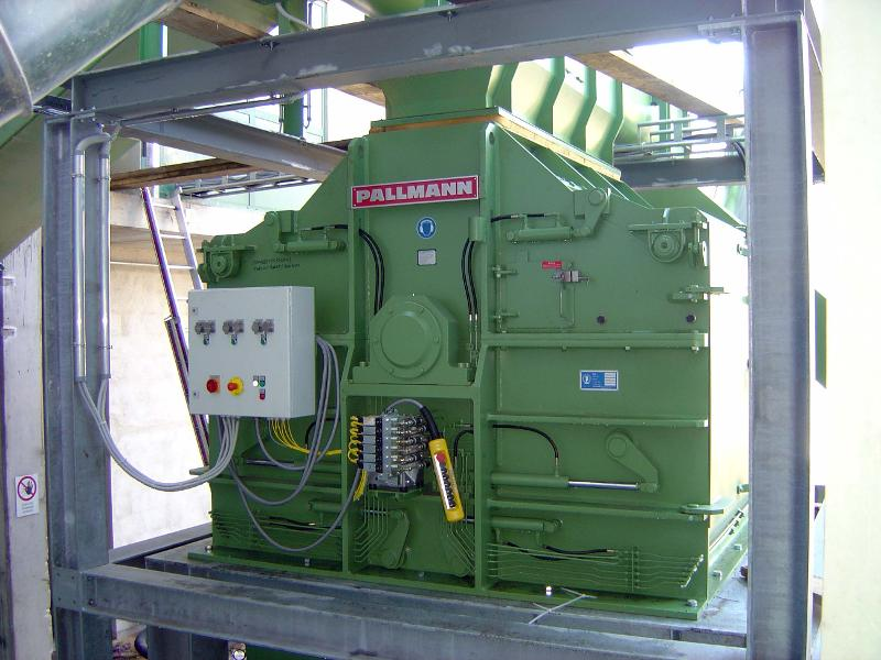 Special Hammer mill - Type PHMC - Energy Production