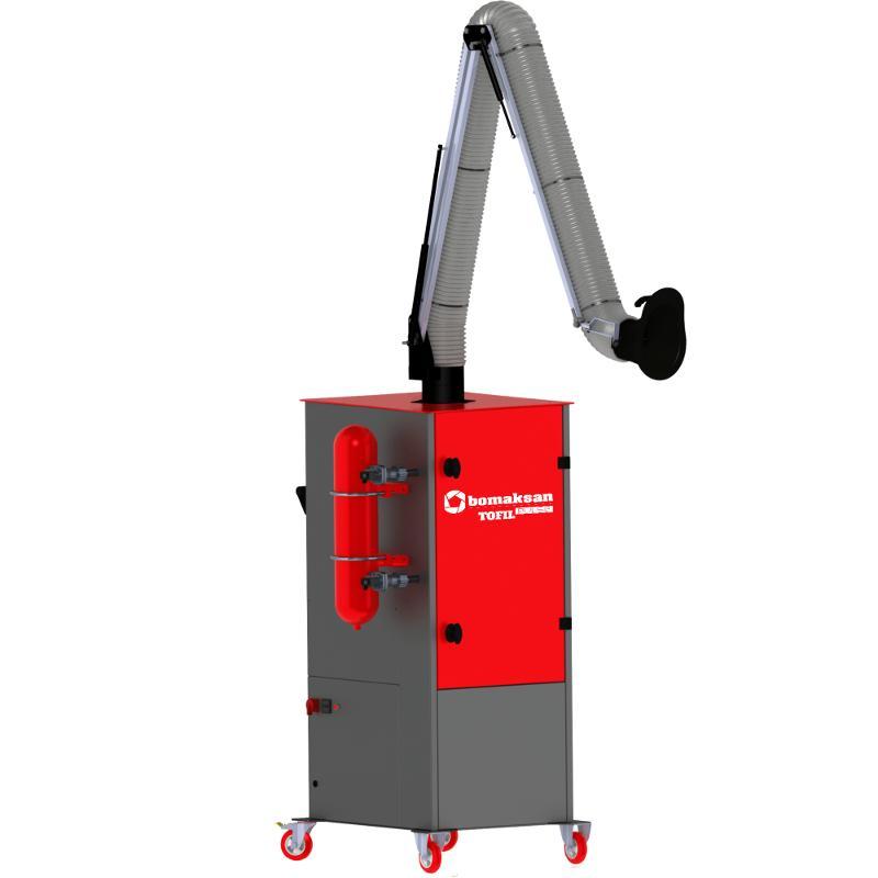 Tofil Pulse - 1 Arm - Industrial Ventilation Devices
