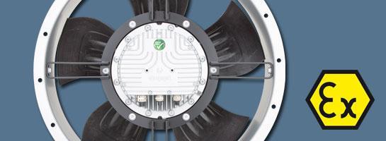 Nouveau moteur ebm-papst  - ATEX