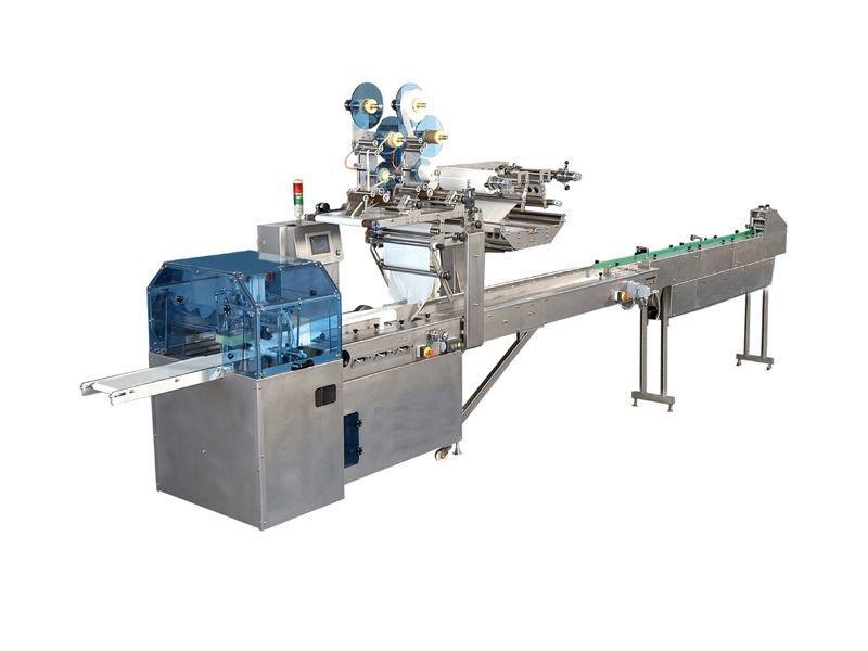 Горизонтальное упаковочное оборудование - Фасовочные машины, автоматические и полу-автоматические линии.