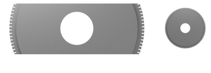 PRECUT PACKAGING BLADES - BISCUITS AND PASTRY CUTTING BLADES