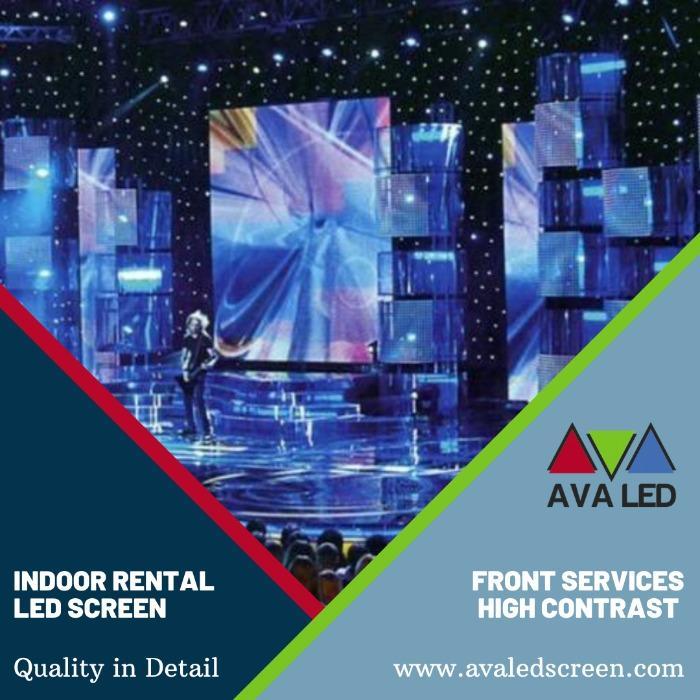 Led-skjermer for innendørs konsertområder - P1.95 - P2.6 - P2.97 - P3.91 Leieveske AVA LED-skjermer