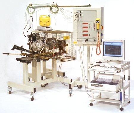Bancs d'essai pour moteurs - Solutions modulaires pour essais moteurs
