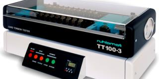 Card Quality Control - BT110-4 - Bending Test System